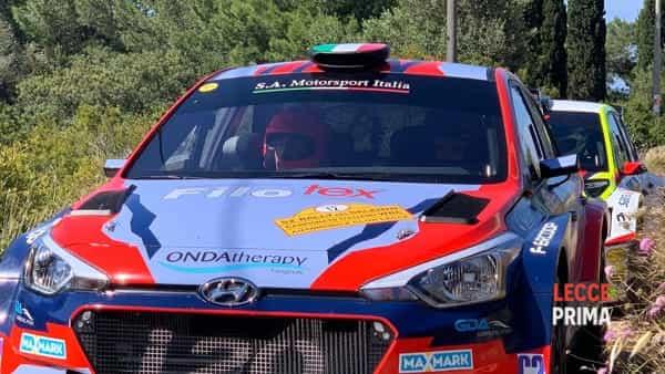 Rally del salento: partenza della prova speciale di Palombara