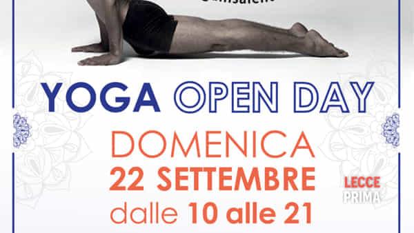 Yis open day: lezioni di yoga gratuite
