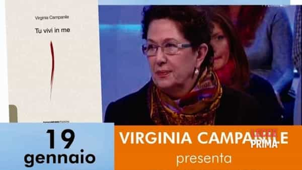 "Virginia Campanile presenta ""Tu vivi in me"""
