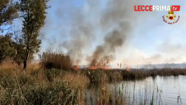 Video | Ore di lavoro senza sosta per i vigili del fuoco del comando provinciale