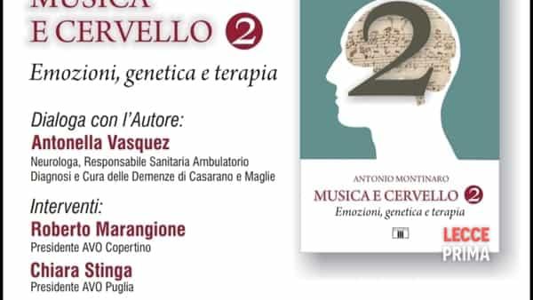 """""""Musica e cervello 2"""": l'evento di Avo Copertino"""