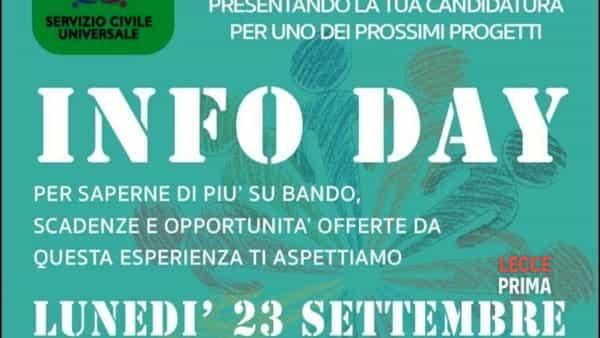 Infoday: servizio civile di Squinzano