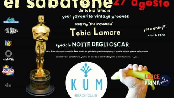 El Sabatone de Tobia Lamare: la notte degli Oscar