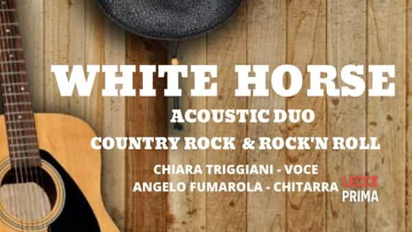 White Horse country duo live al Casanova