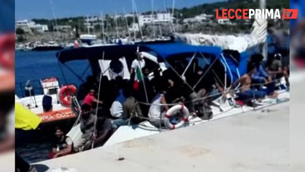 A Santa Maria di Leuca approdano 70 migranti, due i presunti scafisti