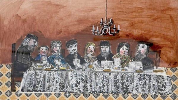 """""""La vita è una fiaba"""", la mostra di Luzzati al Museo Ebraico di Lecce"""