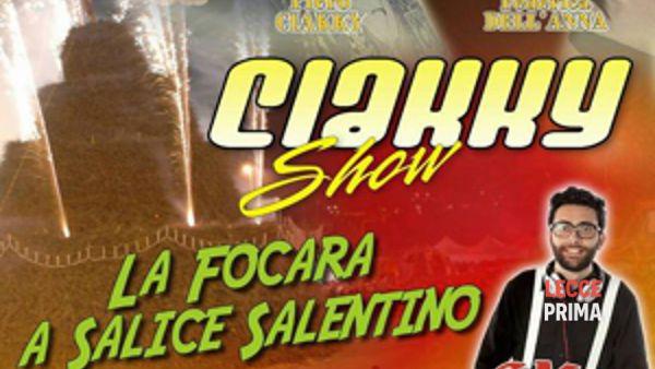 Ciakky show domenica 31 gennaio a Salice Salentino