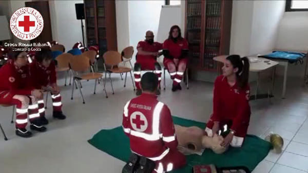 Video | A Boncore in 150 pronti a essere formati dalla Croce rossa di Lecce