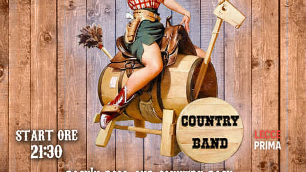 White Horse Country trio live al Vintage club a Casarano