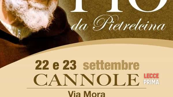 Festa di San Pio da Pietrelcina a Cannole