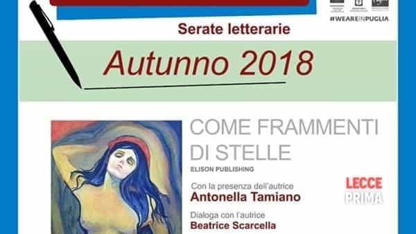 Come frammenti di stelle: il libro di Antonella Tamiano