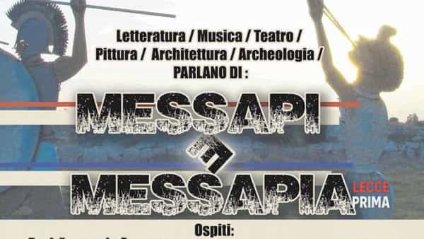Messapi e Messapia: serata divulgativa