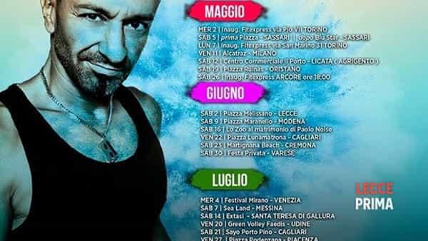 """2 giugno melissano - zoo party """"radio 105"""" con pippo palmieri e wender -4"""