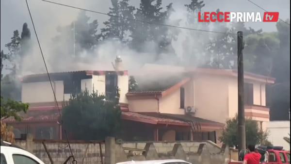 Video|La furia impetuosa dell'acqua e del fuoco si abbatte sul Salento