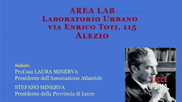 """""""Moro: martire laico"""" ad Alezio con l'associazione culturale Atlantide"""