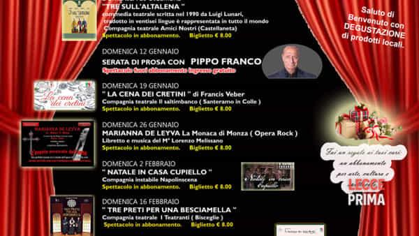 Teatro Illiria: rassegna teatrale 2019-20