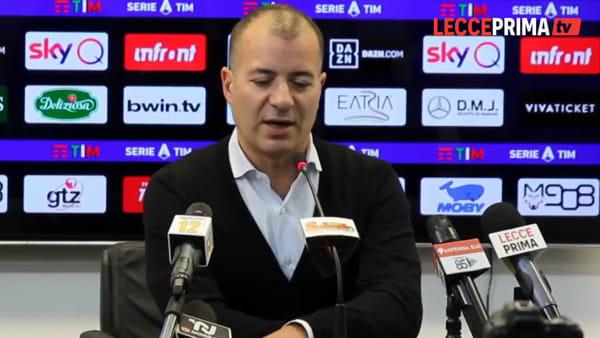 Video | Il presidente del Lecce, tra bilanci e aspettative - parte prima