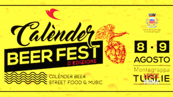 Calènder Beer Fest a Tuglie