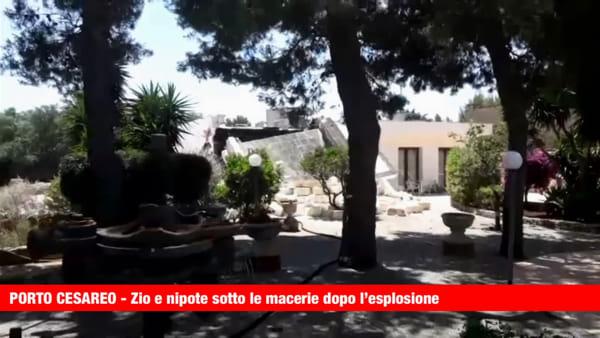 Video|Zio e nipote sotto le macerie dopo la violenta esplosione: entrambi gravi