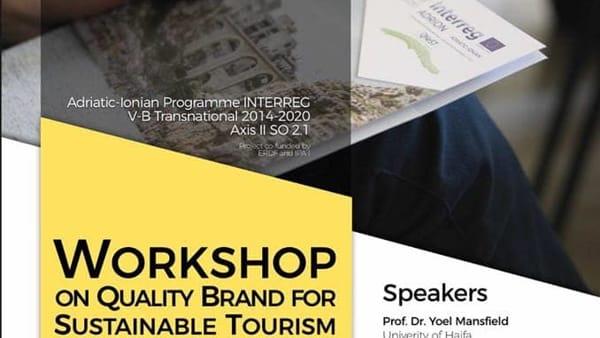 Tre giorni di seminari sul Quality Brand e sulla sostenibilità del turismo