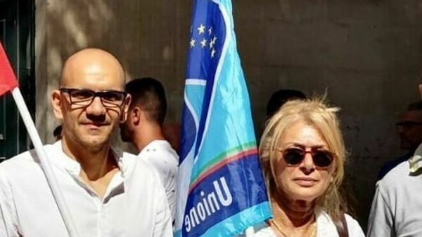 In foto: i segretari di Cgil e Filcams
