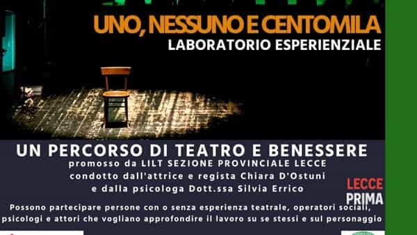 """Laboratorio di teatro: """"Uno, nessuno e centomila"""""""