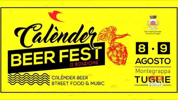 Ad agosto la seconda edizione del Calènder Beer Fest