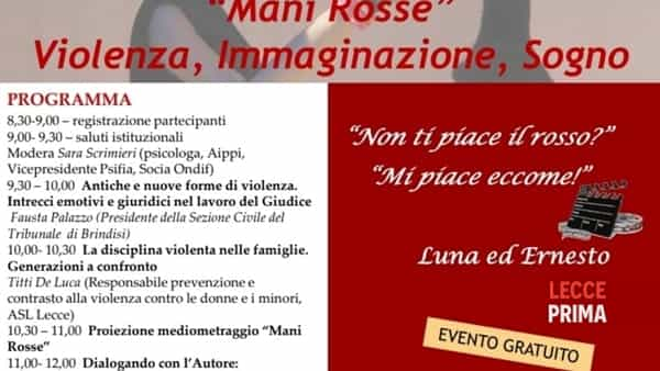Mani Rosse: violenza, immaginazione, sogno