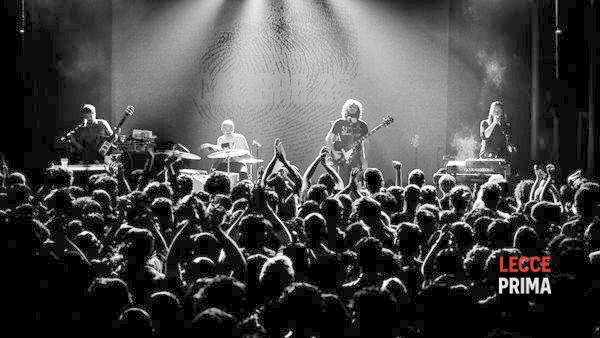 Calibro 35 dal vivo il 5 aprile 2014 a Trepuzzi