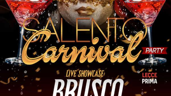 Brusco in concerto al Salento carnival party