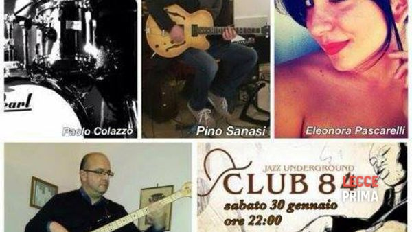 """Welcome quartet"", musica jazz al Club 84 di Maglie"