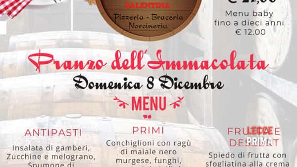Festa dell'Immacolata a Salice Salentino