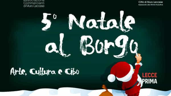 Mercatino di Natale nel borgo a Muro Leccese