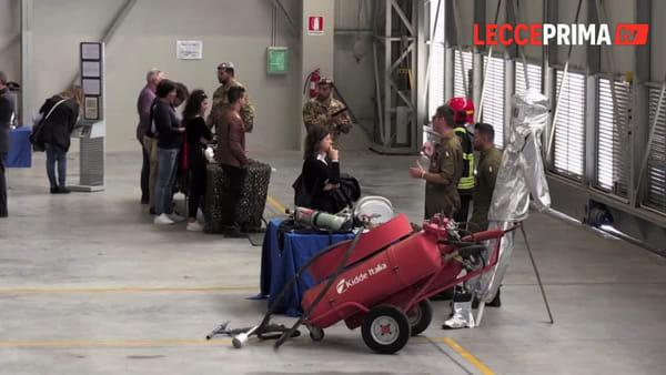 Video | Giovani, ma non solo, tra velivoli, equipaggiamenti e dispositivi