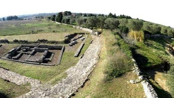 Visite guidate nel Parco Archeologico di Rudiae a Lecce
