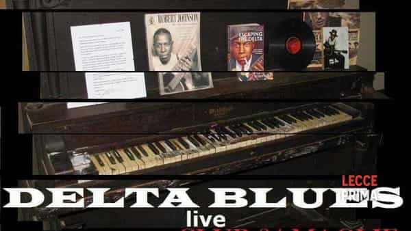 Delta Blues live al Club 84 di Maglie