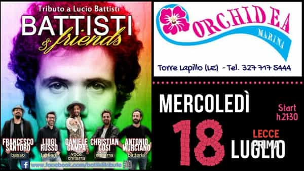 Battisti & friends a Torre Lapillo
