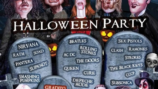 Rock party di Halloween alle Manifatture Knos