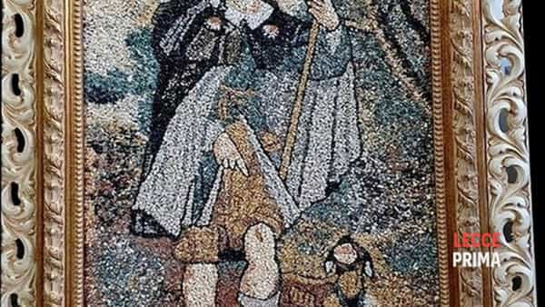Un mosaico moderno per la Parrocchia di Surano