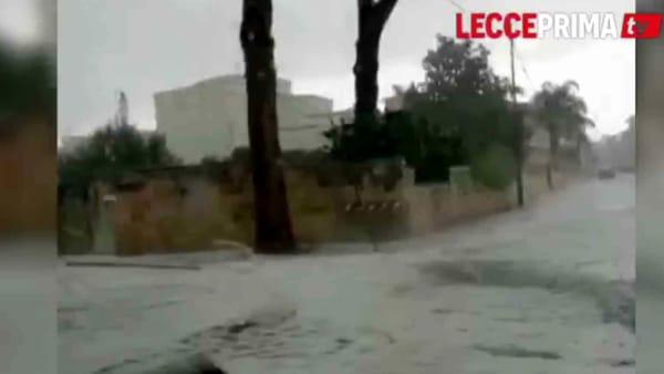 Video | Allagamenti e grandinate, folle inizio di giugno per la provincia di Lecce