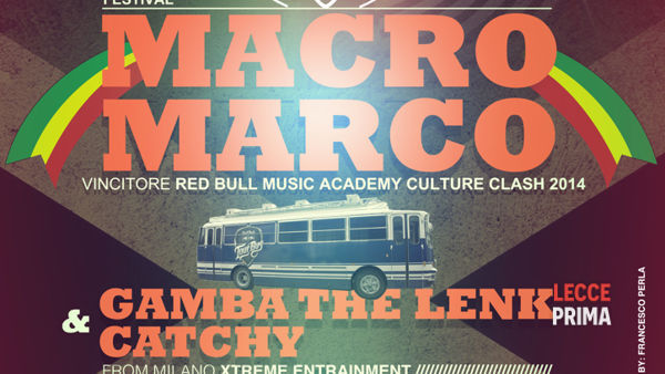 Macro Marco the king of Redbull music academy culture clash