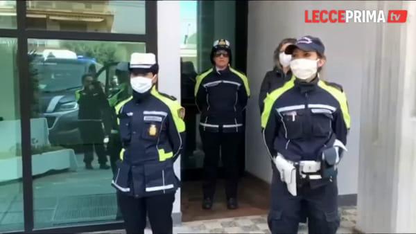 Video | Il minuto di raccoglimento per le vittime dell'epidemia da Covid-19