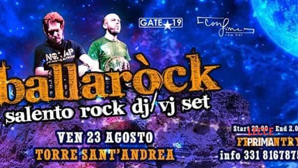 Ballarock a Torre Sant'Andrea