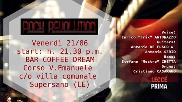 Rock revolution live a Supersano