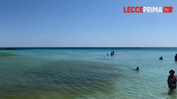 Video | Avvistata una chiazza anomala, Arpa in spiaggia per campionamenti