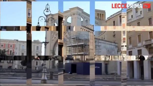 Video | Giornata primaverile ma strade quasi deserte: Lecce ai tempi del Covid-19