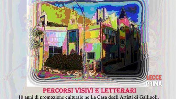 """""""10 anni di calore e colore"""", mostra collettiva di percorsi visivi e letterari"""