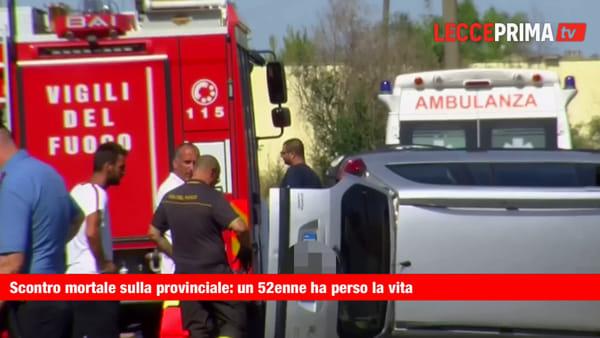 Sangue sulle strade del Salento: perde la vita un automobilista