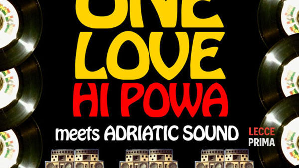 Dancehall night with one love hi powa al Livello Undiciottavi di Trepuzzi