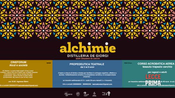 """""""Alchimie"""": la rassegna a cura del Teatro dei veleni"""